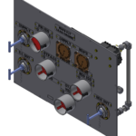 "ROV Panel: Valve Operator Regulators 1"" pipe"